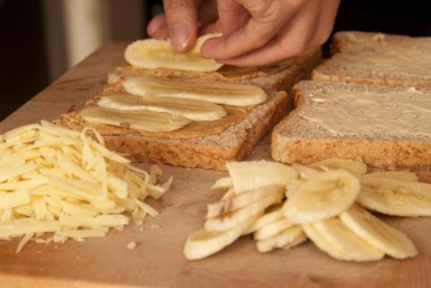 BananenErdnussbutterSandwich2